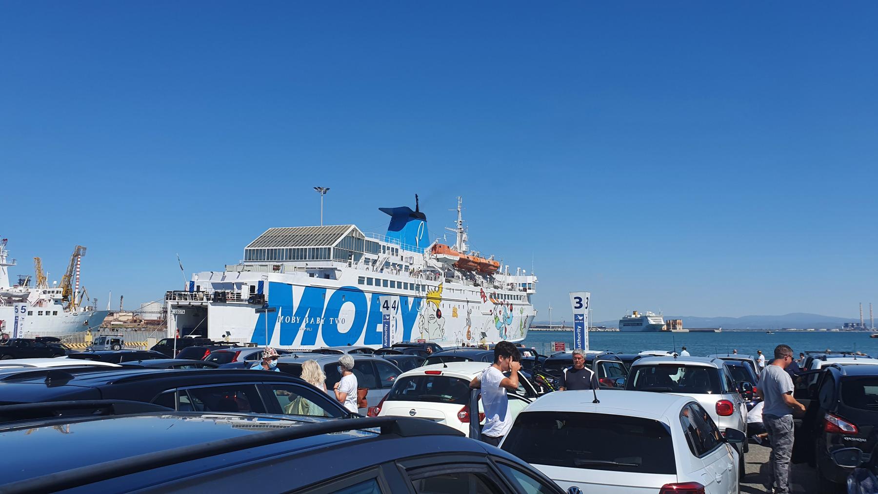 Piombino, ferry naar Elba!