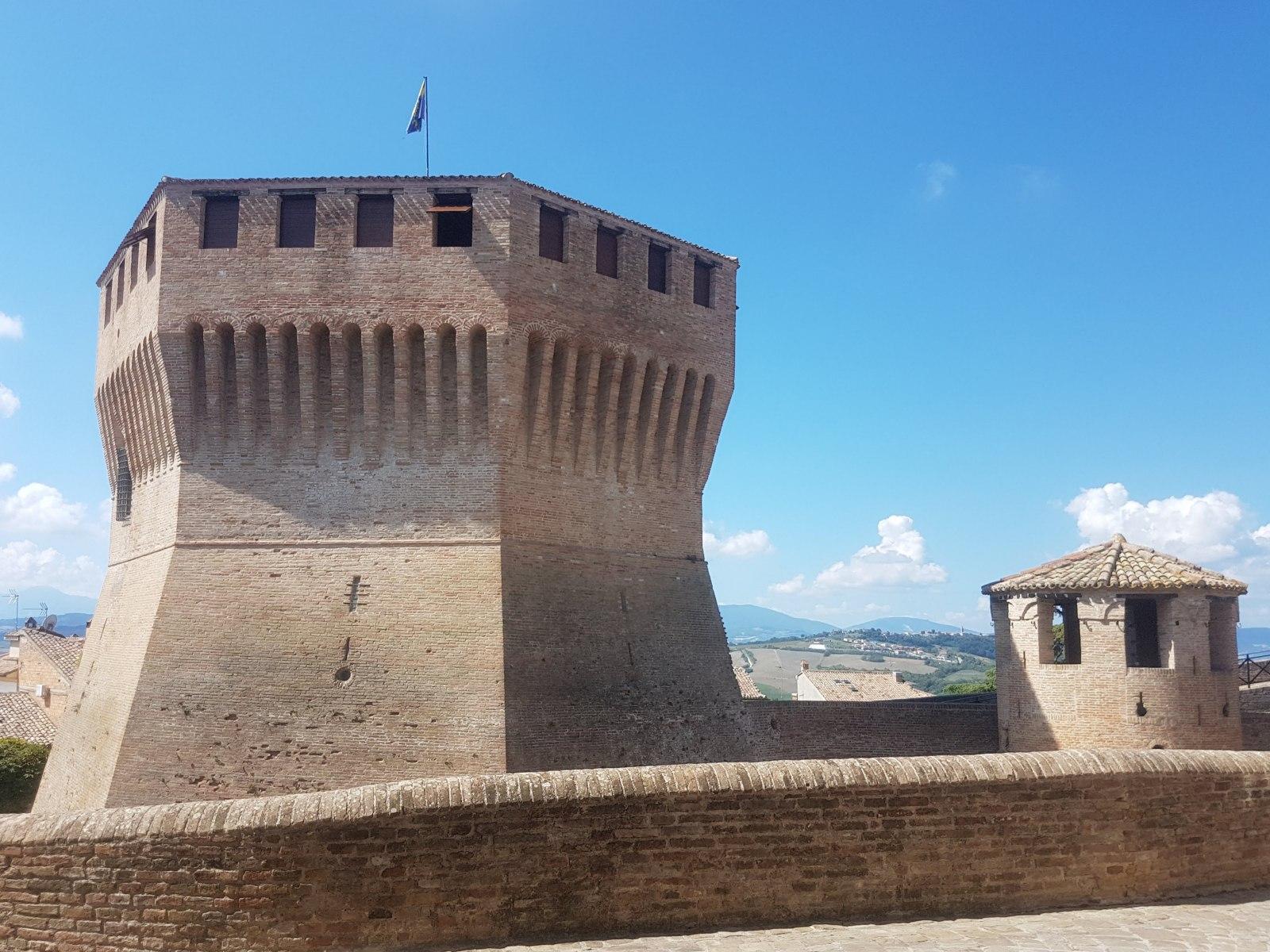 Mondavio, La Rocca