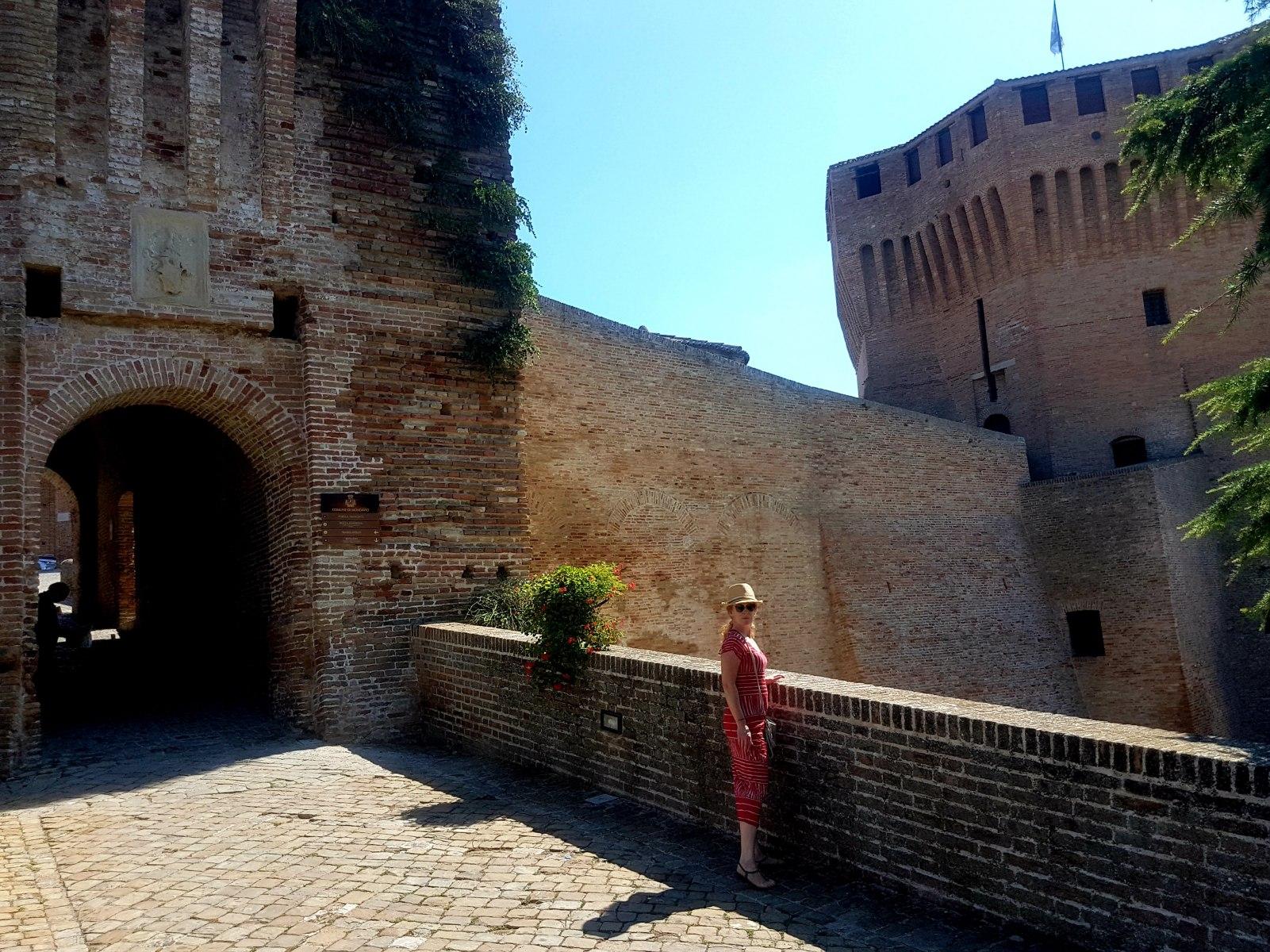 La Rocca, entree, La Porta San Francesco