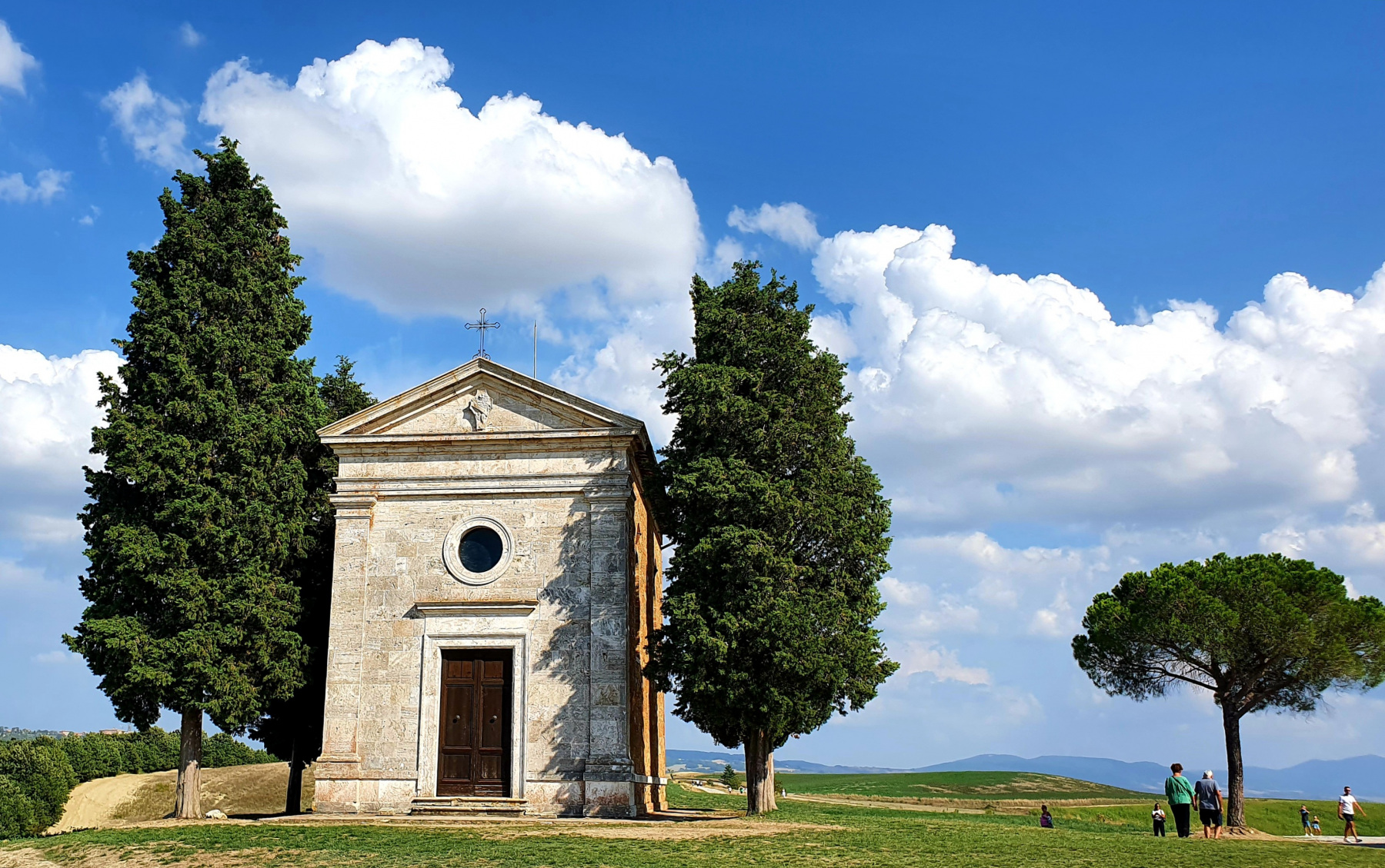 Toscane, Cappella della Madonna di Vitaleta