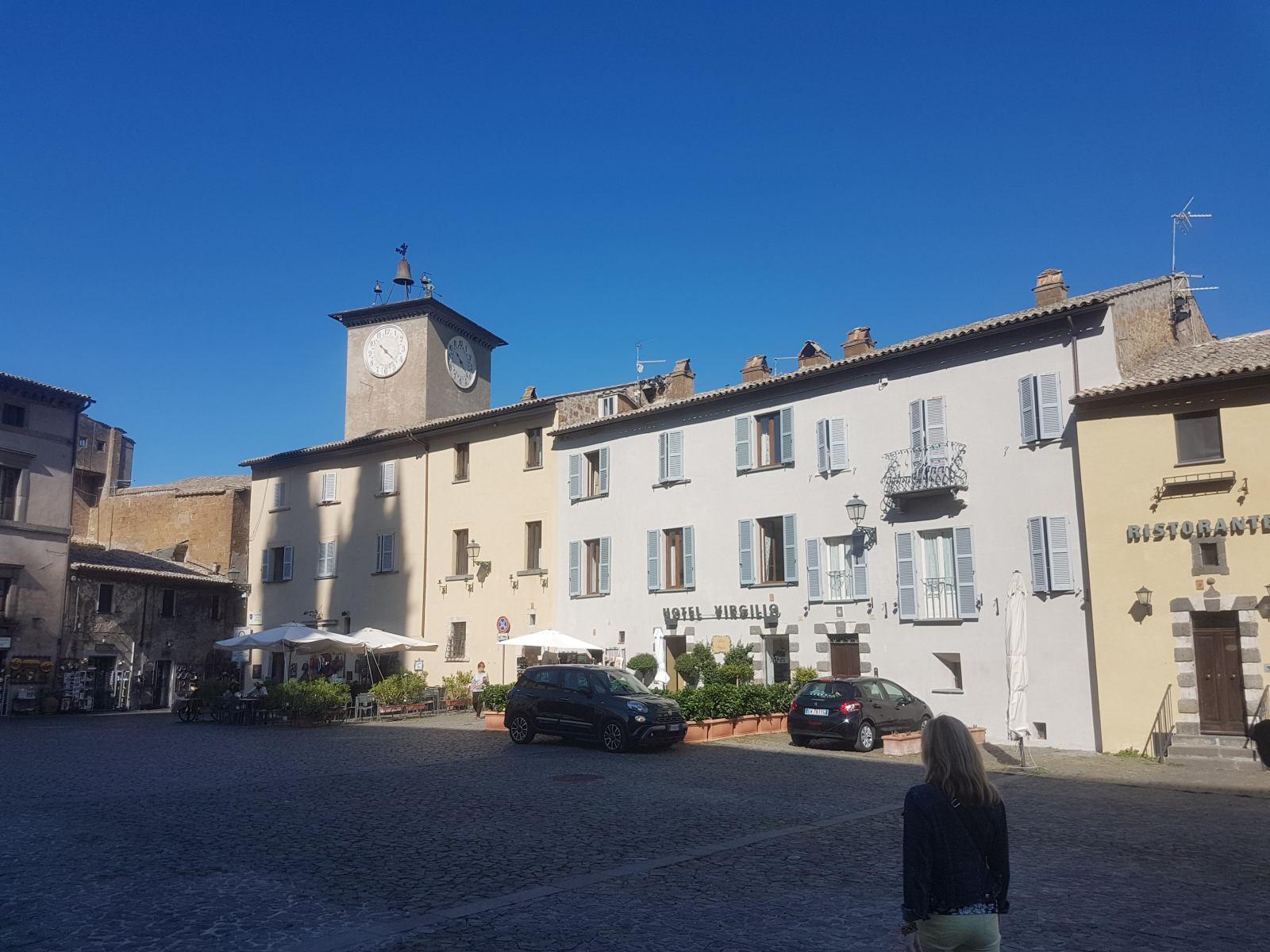 Orvieto, Hotel Virgilio
